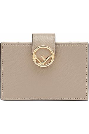 Fendi Accordion cardholder - NEUTRALS