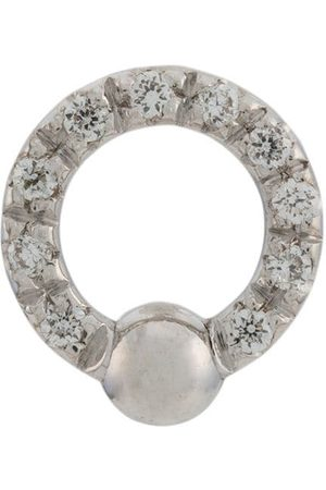 Delfina Delettrez 18kt white gold Two In One diamond earring