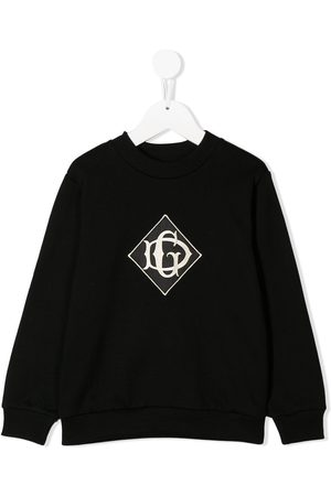 Dolce & Gabbana Boys Sweatshirts - Logo patch sweatshirt