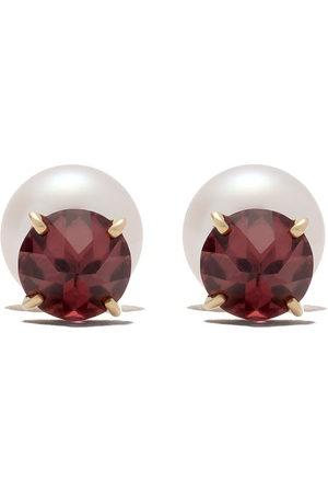 Tasaki Women Earrings - 18kt refined rebellion garnet earrings