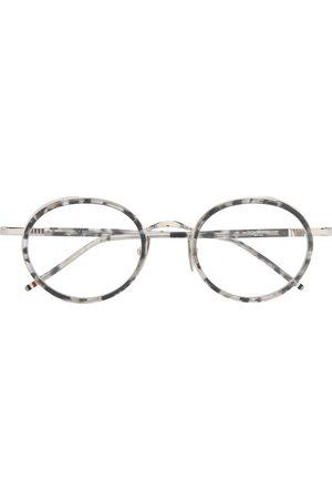 Thom Browne Sunglasses - TB813 tortoiseshell round-frame glasses