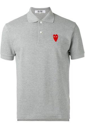 Comme des Garçons Elongated heart polo shirt