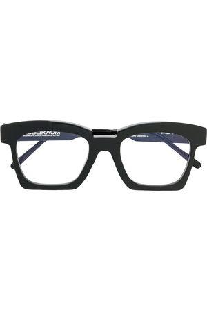 Kuboraum Square-frame acetate eyeglasses