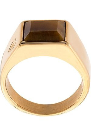 Nialaya Jewelry Oversized square ring