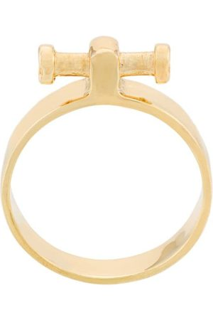 ANNELISE MICHELSON Women Rings - Small Alpha ring