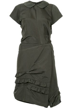 Comme des Garçons Striped twisted dress