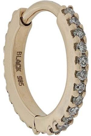 Maria Black Rainbow Huggie earring - Metallic
