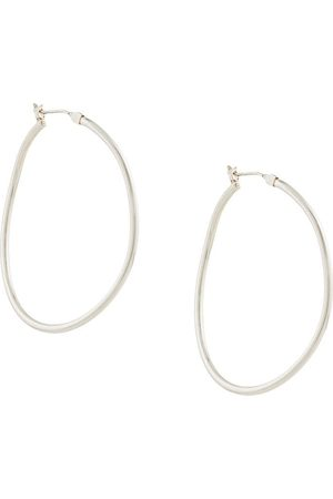 E.M. Hoop earrings - Metallic