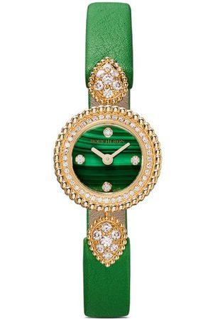 Boucheron 18kt yellow gold Serpent Bohème diamond watch - YG