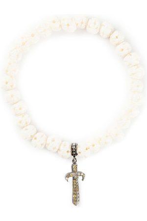 LOREE RODKIN Gold and diamond pavé dagger bracelet - Neutrals