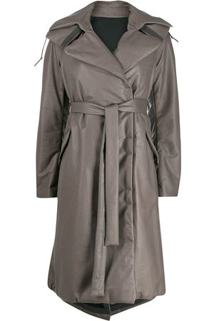 ISAAC SELLAM EXPERIENCE Padded oversized trench coat