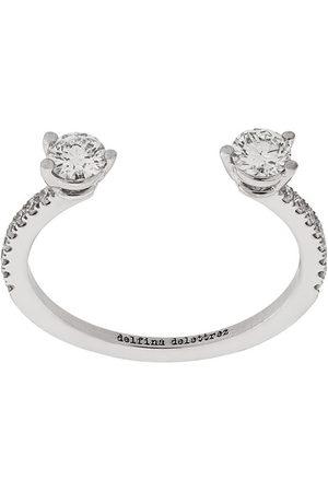 DELFINA DELETTREZ Women Rings - 18kt white gold Dots Diamond Pave ring