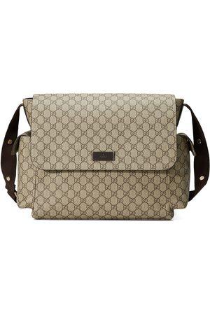 Gucci GG Supreme diaper bag - NEUTRALS