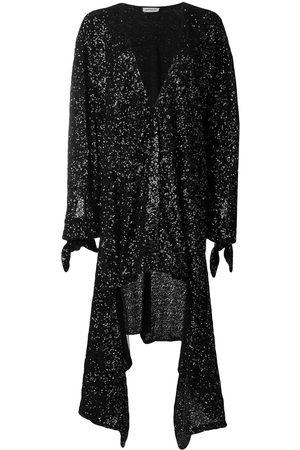 The Attico Women Asymmetrical Dresses - Sequined asymmetric dress