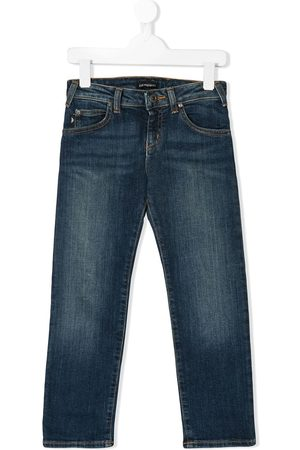 Emporio Armani Boys Straight - Straight leg denim jeans