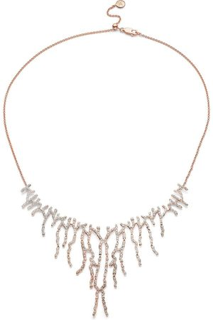 Monica Vinader Women Necklaces - Riva Waterfall Cocktail Diamond necklace