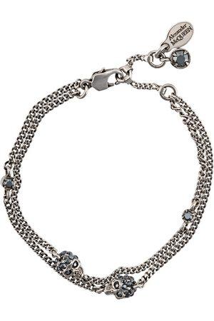 Alexander McQueen Skulls bracelet - Metallic