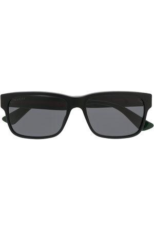 Gucci Web square sunglasses