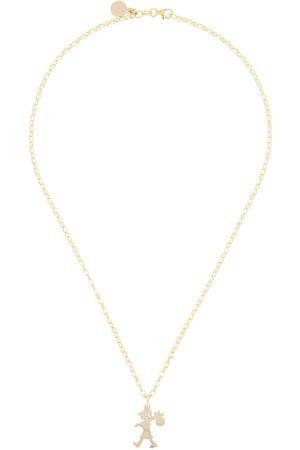 Karen Walker 9kt Runaway Girl pendant necklace