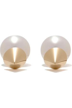 TASAKI Women Earrings - 18kt refined rebellion earrings