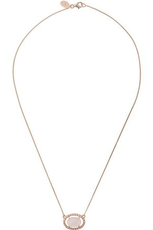V by Laura Vann Oval quartz necklace