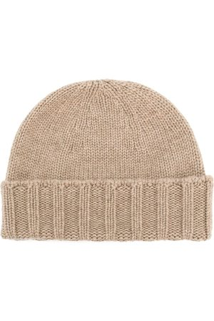 DRUMOHR Cable knit beanie - Neutrals