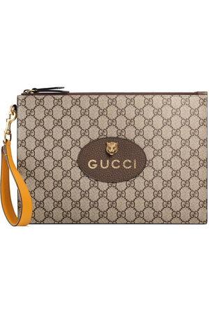 Gucci Neo Vintage GG Supreme pouch - Neutrals