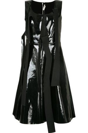 Comme des Garçons Pinafore dress with tear detailing