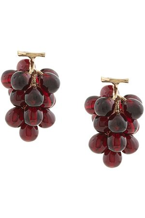 E.M. Grape earrings