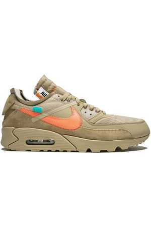 Nike The 10: Off White x Air Max 90 sneakers - NEUTRALS