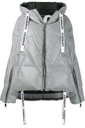 Khrisjoy Women Jackets - Hooded puffer jacket