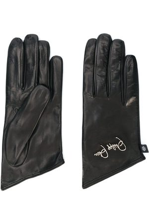 Philipp Plein Women Gloves - Embroidered logo gloves