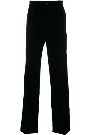Armani Elasticated waistband straight trousers