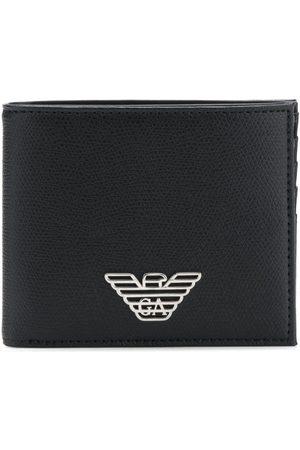 Emporio Armani Logo plaque wallet