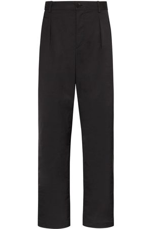 VALENTINO Men Straight - Pleated straight leg trousers