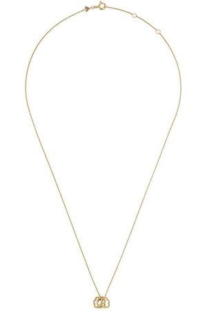 Aliita 9kt yellow mini Trio Nubecita necklace