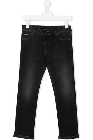 Dolce & Gabbana Boys Slim - Slim-fit jeans