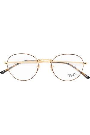 Ray-Ban Two-tone round-frame glasses - Metallic