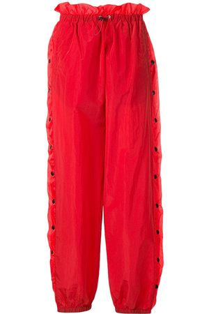 Unravel Project Snap button track trousers