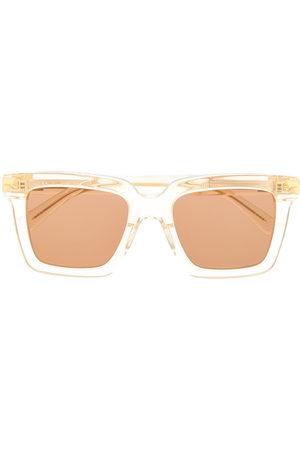 Bottega Veneta Eyewear Square-frame sunglasses - Neutrals