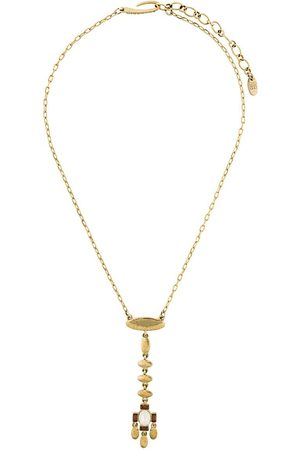 Givenchy Pre-Owned Women Necklaces - 1980's dangling pendant necklace - Metallic