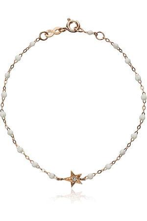 GIGI CLOZEAU 18kt rose gold star diamond and rose gold bracelet