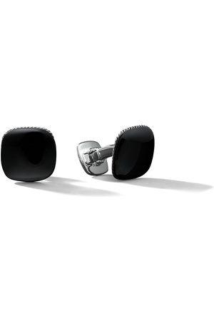 David Yurman Men Cufflinks - Streamline black onyx cufflinks