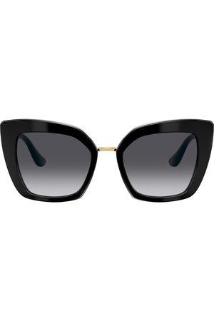 Dolce & Gabbana Butterfly oversized-frame sunglasses