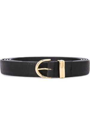 Khaite Embossed buckle belt