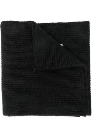 VALENTINO Knitted logo scarf