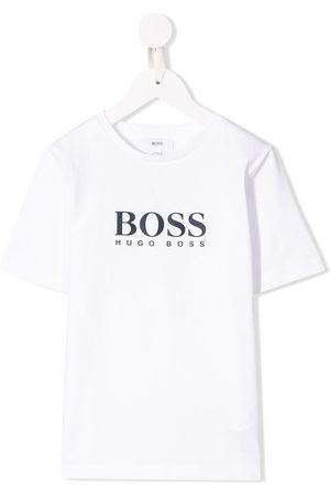 HUGO BOSS Boys Short Sleeve - Logo print T-shirt