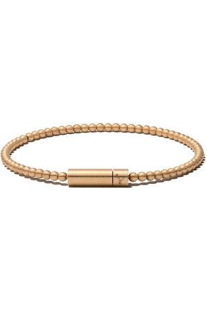 Le Gramme 18kt brushed Le 15 Grammes beads bracelet