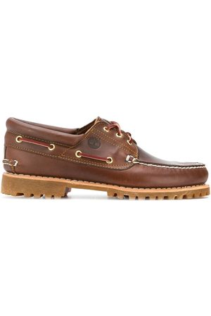 Chunky sole boat shoes
