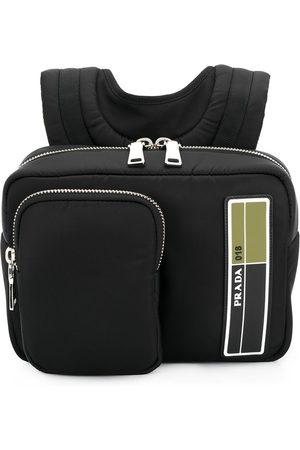 Prada Men Rucksacks - Small zipped backpack